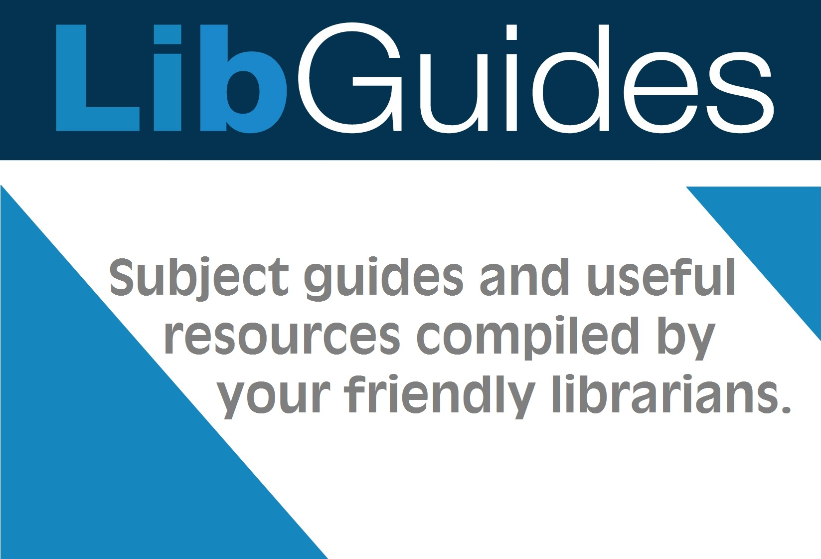 LibGuides Subject Guides