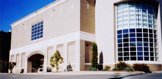 wilkes county library exterior